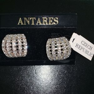 Antares Vintage Costume dazzling clip ons